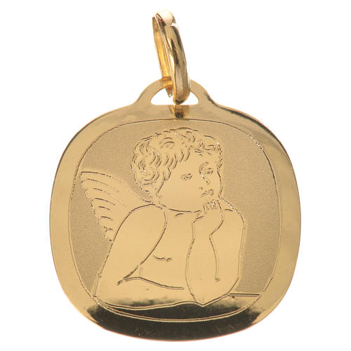 Pendentif angelot en or 750/00 - 0,92 1