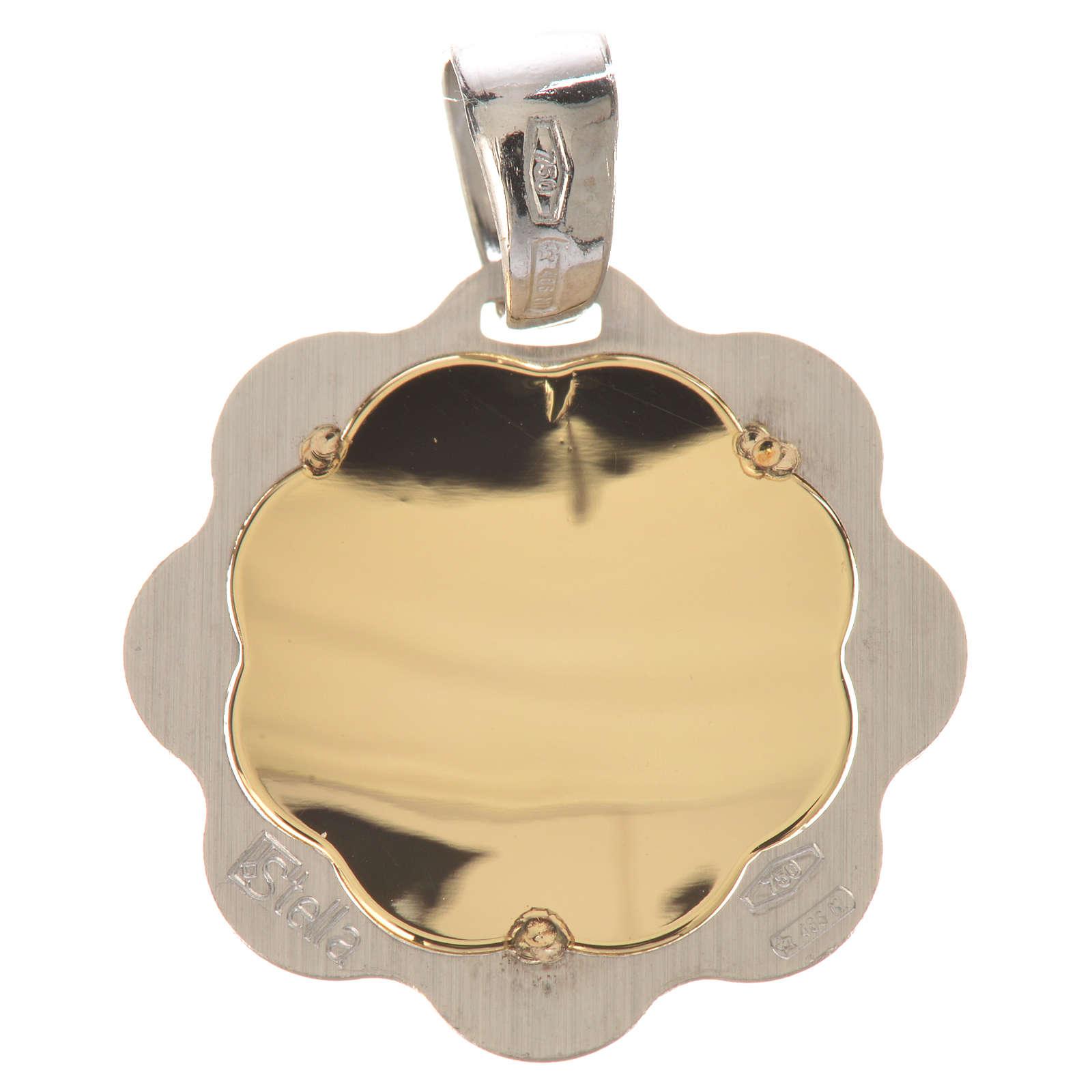 Medaglia battesimo oro 750/00 - gr. 1,48 4