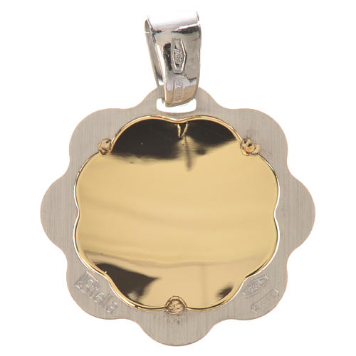 Medaglia battesimo oro 750/00 - gr. 1,48 2