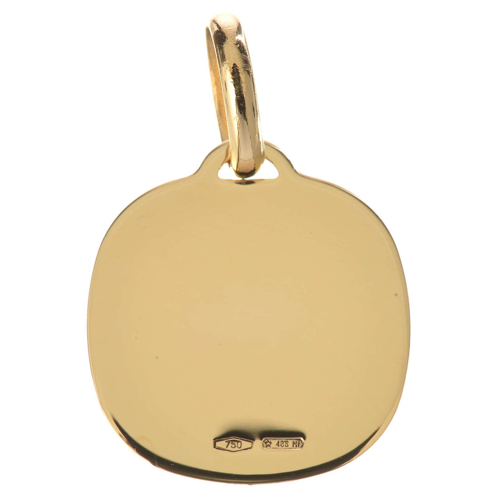 Médaille ange en prière or 750/00 - 1,71g 4