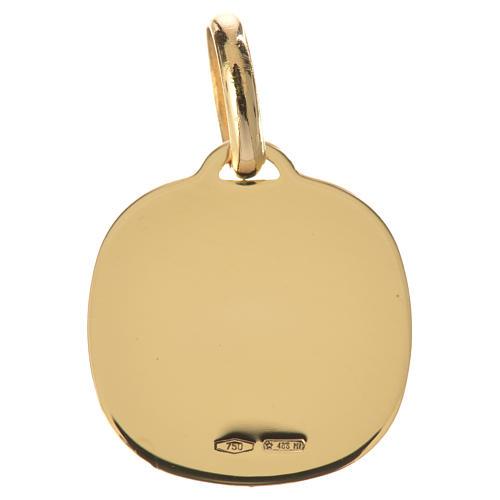 Médaille ange en prière or 750/00 - 1,71g 2