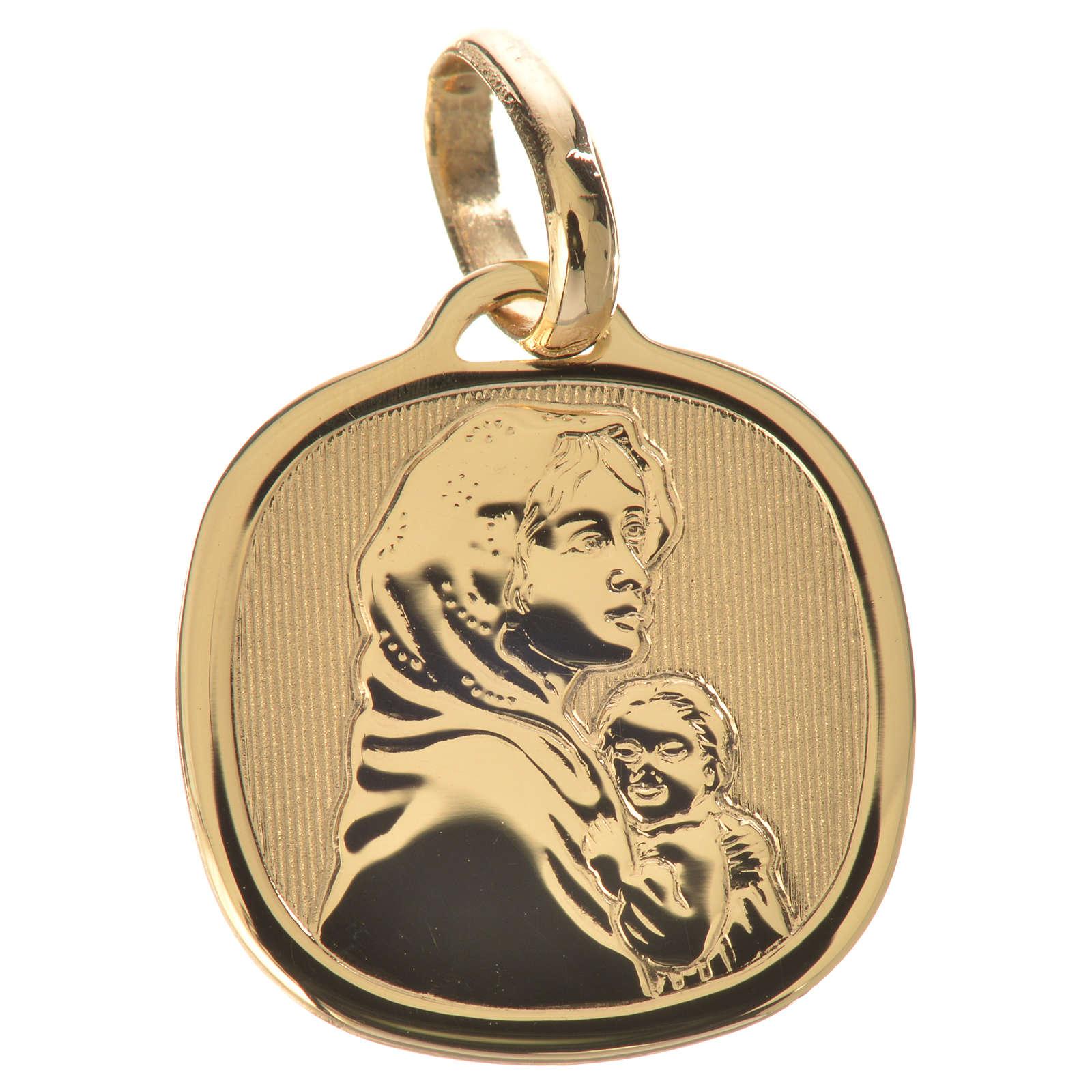 Ciondolo Madonna del Ferruzzi oro 750/00 - gr. 1,67 4