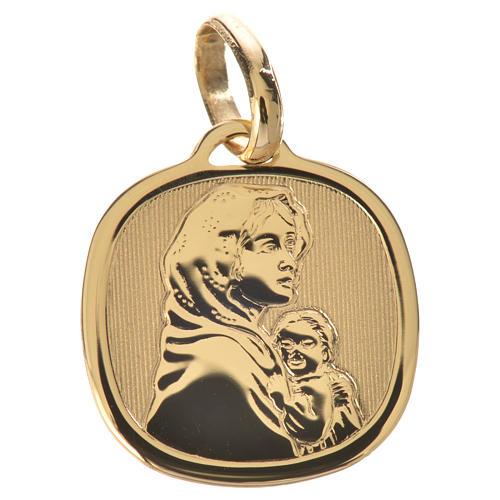 Ciondolo Madonna del Ferruzzi oro 750/00 - gr. 1,67 1