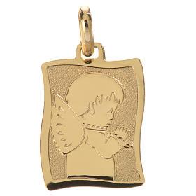 Medalla Ángel rezando Oro 750/00 - gr. 1,63 s1