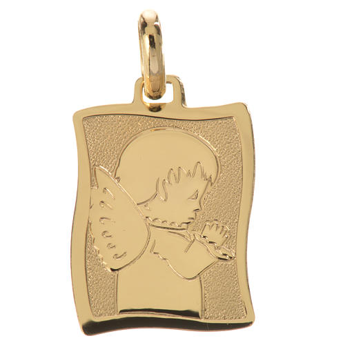 Praying angel pendant in 18k gold 1,63 grams 1