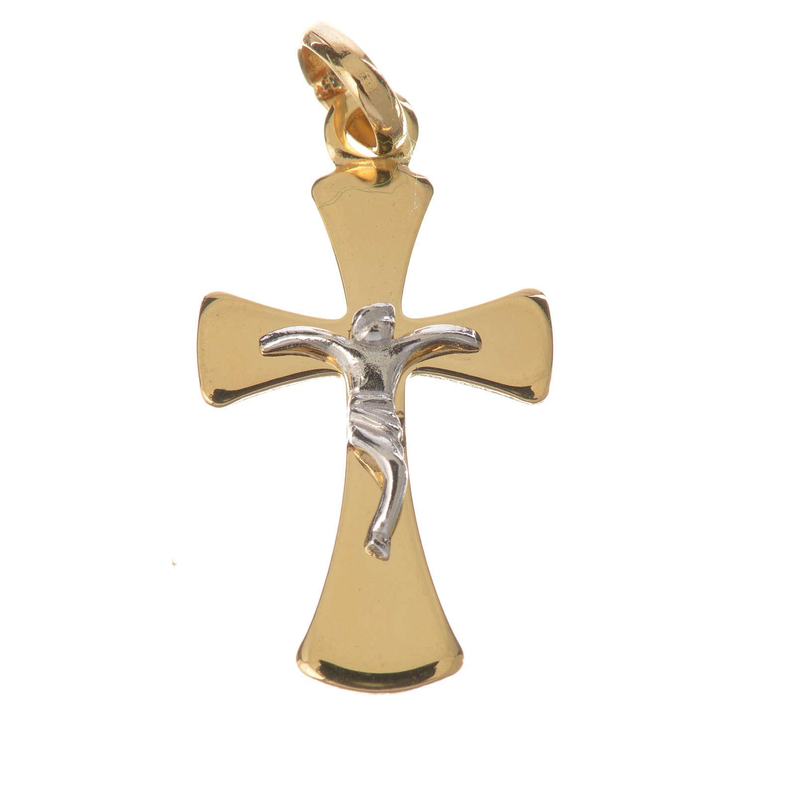 Crucifijo en Oro 750/00 - gr. 1,02 4