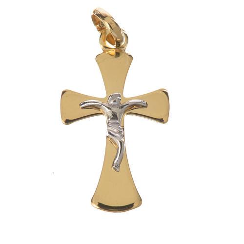 Crucifijo en Oro 750/00 - gr. 1,02 1