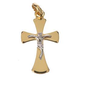 Crocefisso in oro 750/00 - gr. 1,02 s1