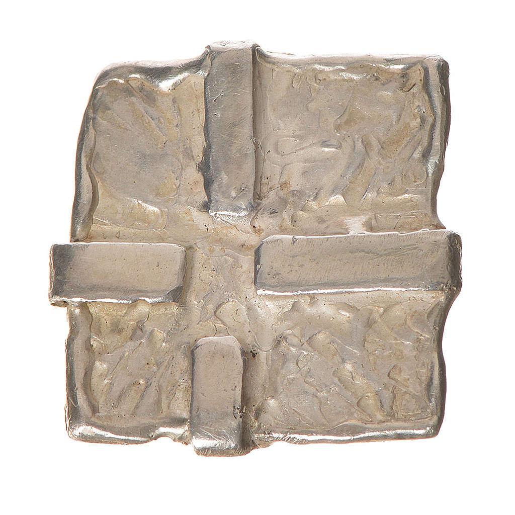 Croce arg. 925 Quadrata 4