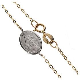 Bracciale medaglia oro 750/00 - gr. 1,42 s1