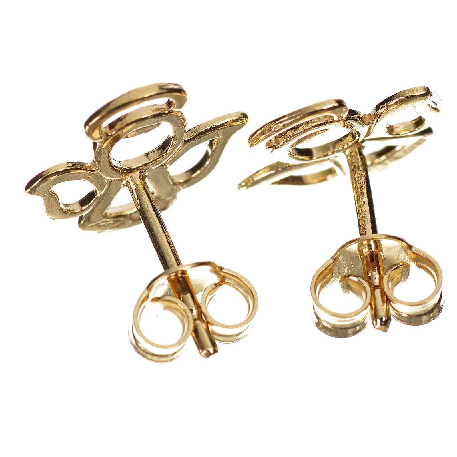 Orecchini angelo stilizzato oro 750/00 - 1,10 4