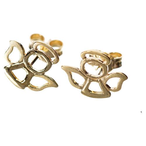 Orecchini angelo stilizzato oro 750/00 - 1,10 1