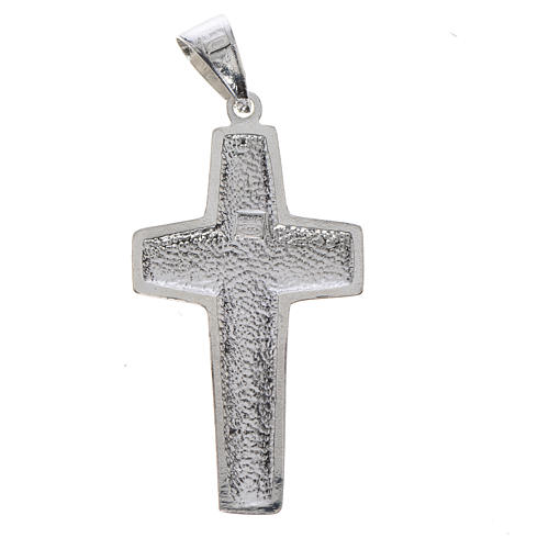 Pope Francis, Good Shepherd cross 925 silver 2