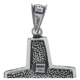 Kreuz Papst Franziskus Silber 925 4x2cm s3