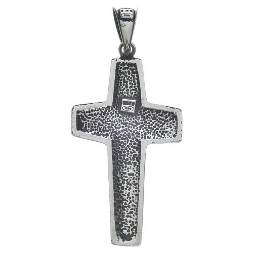 Kreuz Papst Franziskus Silber 925 4x2cm 2