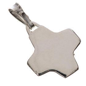Pendente crocetta argento 800 s2