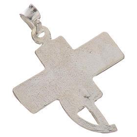 Pendente croce dei diaconi argento 800 s2
