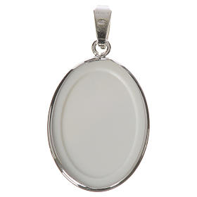 Medaglia ovale arg. 27 mm Ferruzzi s2