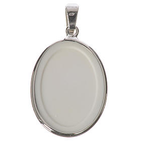 Medaglia ovale arg. 27 mm G. Paolo II s2