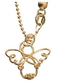 Anjo estilizado ouro 750/00 amarelo 3,64 g s3