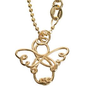 Anjo estilizado ouro 750/00 amarelo 3,64 g s1
