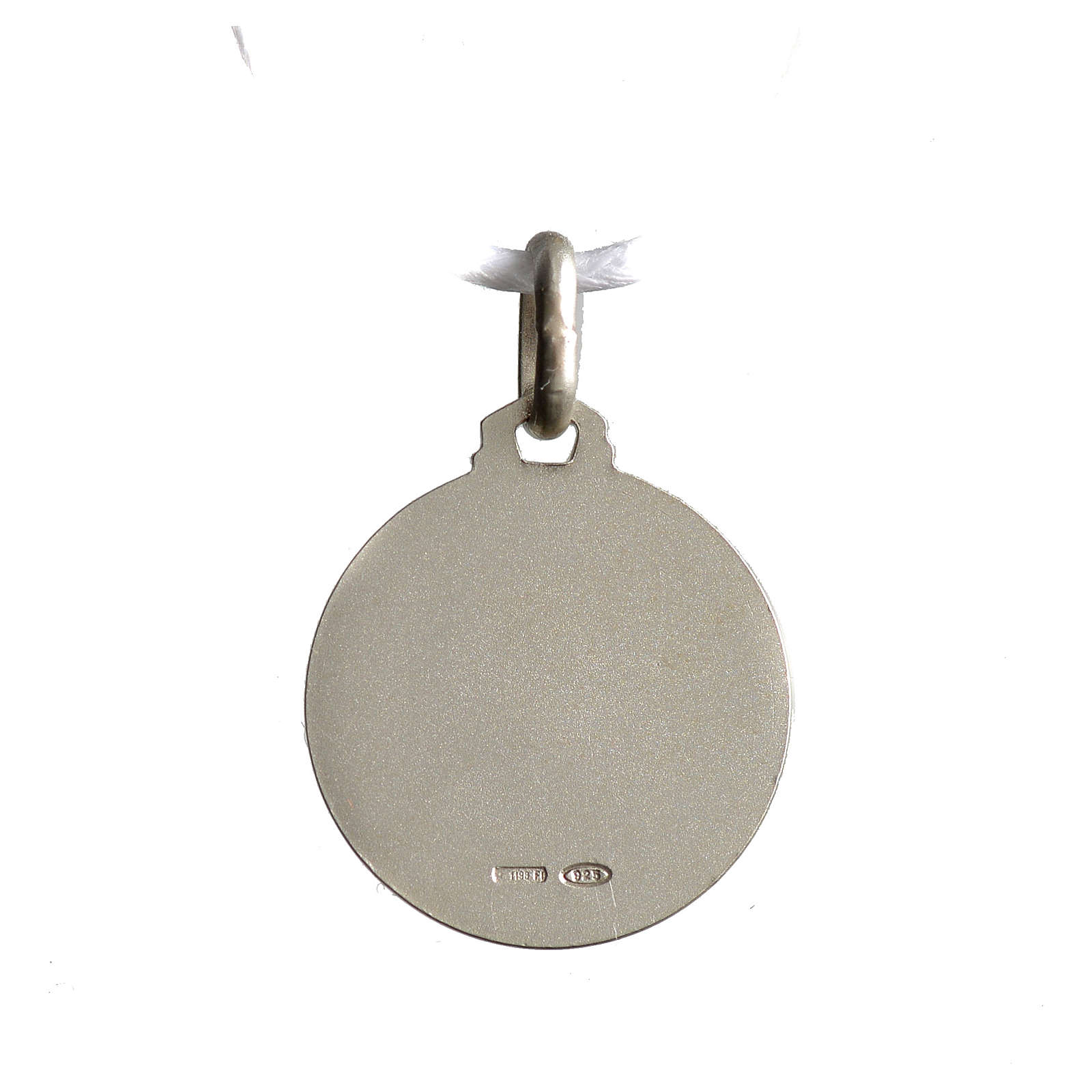 Medal of Sainte Rita 925 silver 4