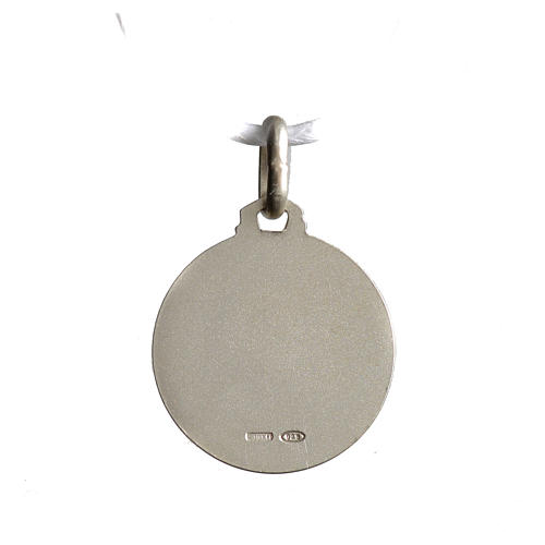Medalik świętej Rity srebro 925 2