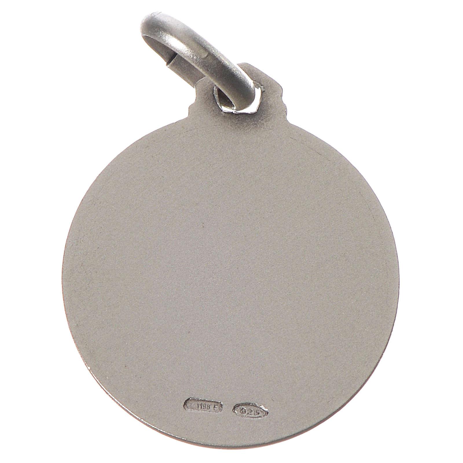 Medalla Síndone Plata 925 4