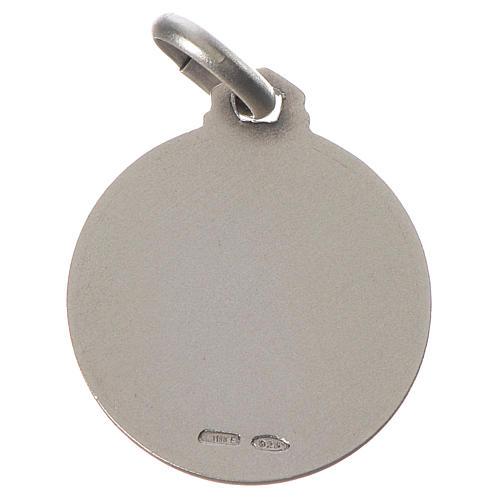 Medalla Síndone Plata 925 2