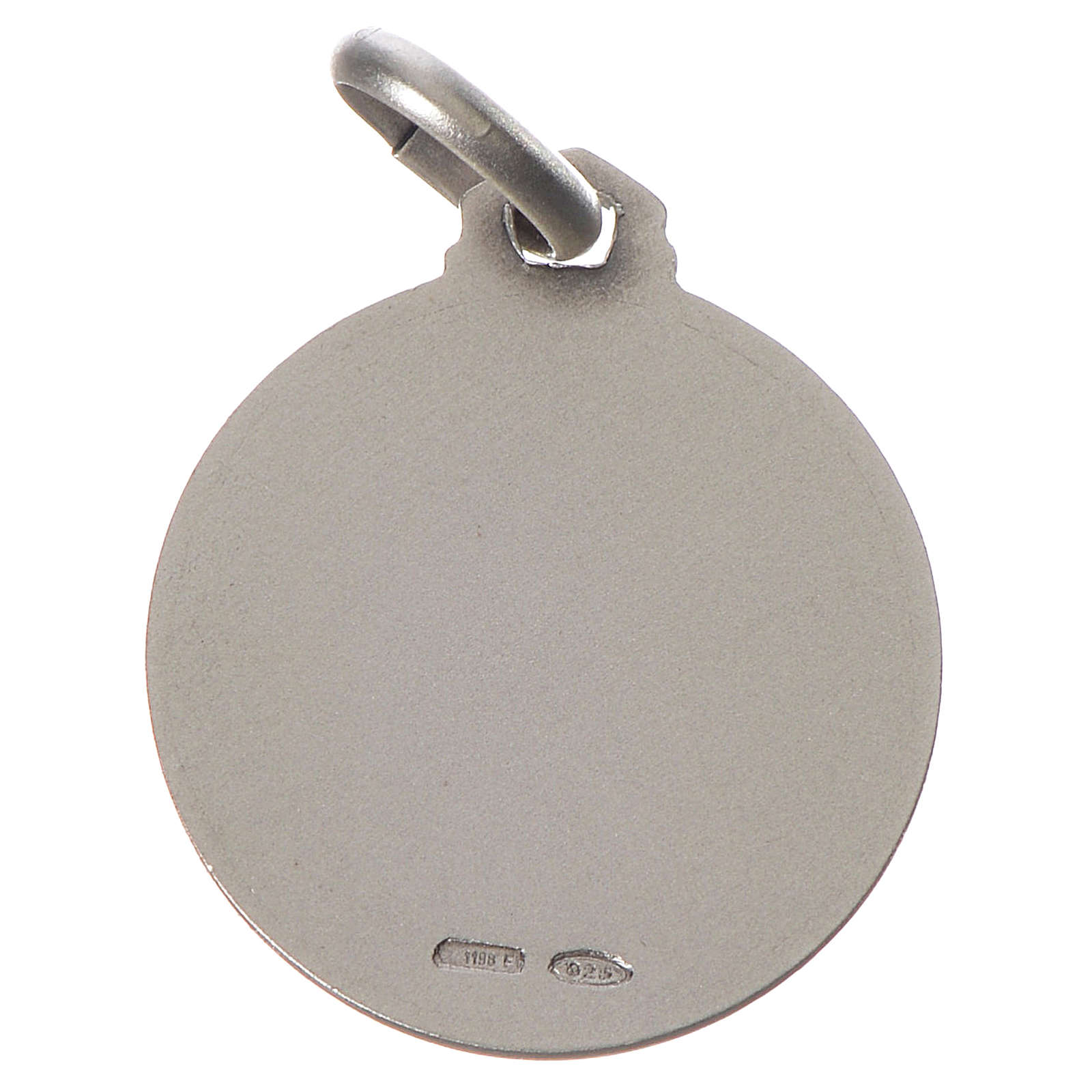 Medalik Całuna srebro 925 4