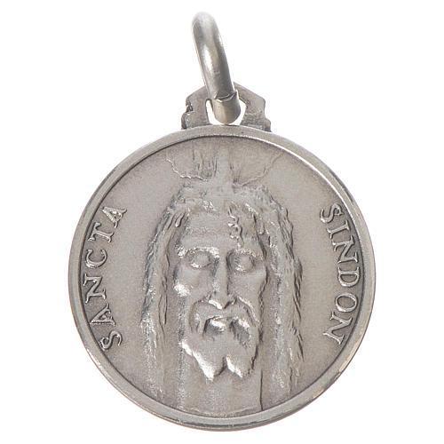 Medalik Całuna srebro 925 1