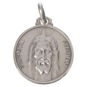 Pingentes, Cruzes, Broches, Correntes: Medalha Sudário prata 925