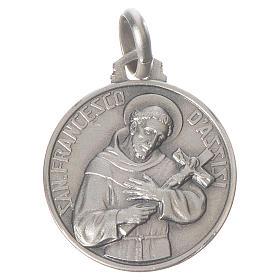 Medalha São Francisco prata 925 s1