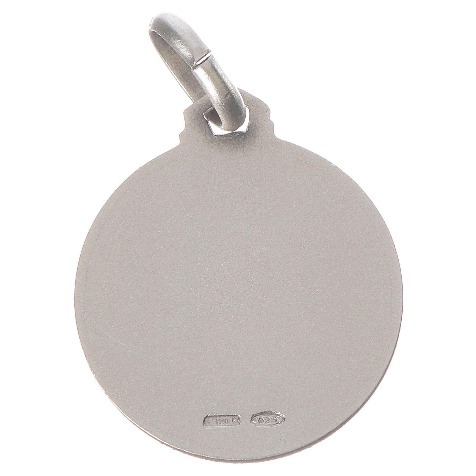 Médaille Ange Raphaël argent 925 4