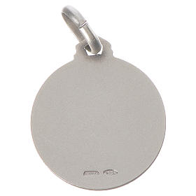 Médaille Ange Raphaël argent 925 s2