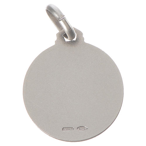 Médaille Ange Raphaël argent 925 2