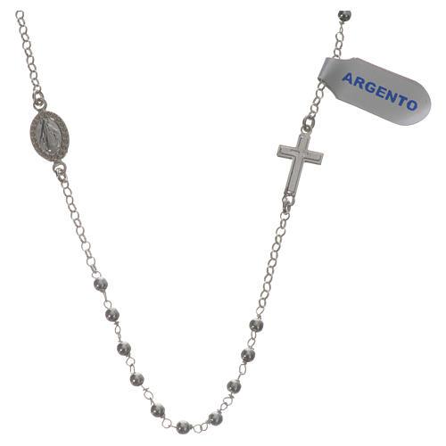 Collar Plata 925 Medalla Milagrosa 3 mm 1