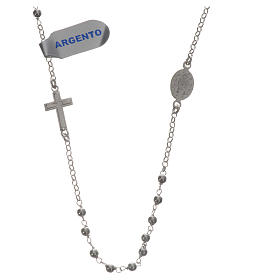 Necklace in 925 silver with Miraculous Medal 3mm s2