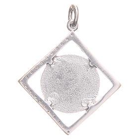 Ciondolo argento 925 Croce San Benedetto 1,6x1,6 cm s2