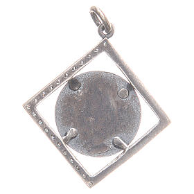 Pendentif argent 800 Vierge Miraculeuse 1,6x1,6 cm s2
