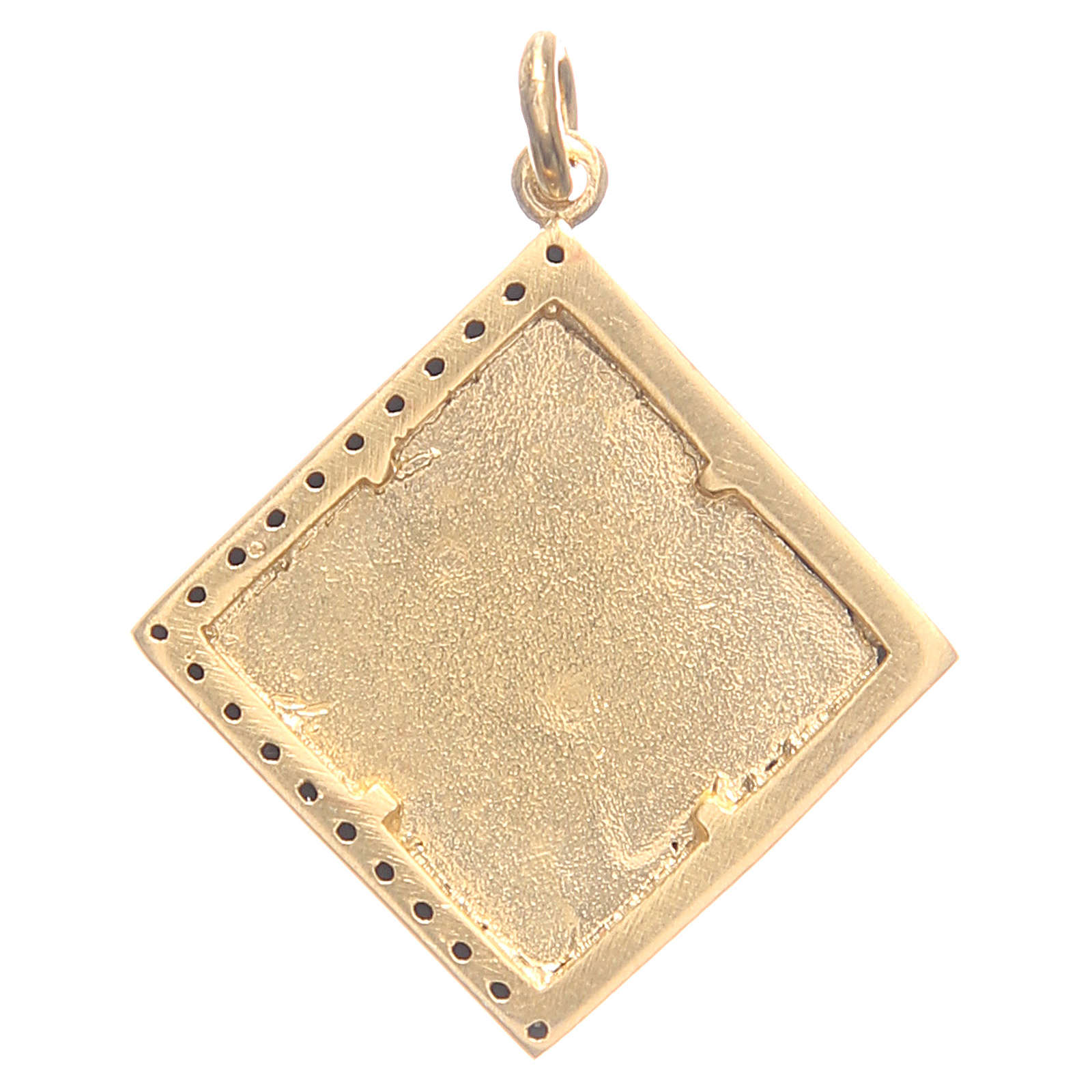 Pendant charm in 800 silver with cross 1.7x1.7cm 4