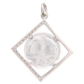 Ciondolo argento 800 simbolo PAX 1,7x 1,7 cm s2