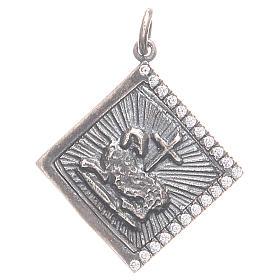 Ciondolo argento 800 Agnus Dei 1,7x1,7 cm s1