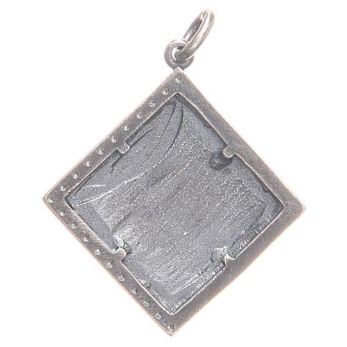 Ciondolo argento 800 Agnus Dei 1,7x1,7 cm 2