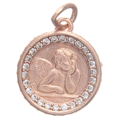 Pendant in 800 silver with Raphael's angel 1,6 1
