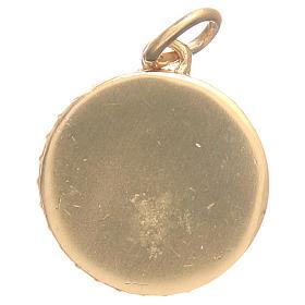 Médaille laiton Vierge Miraculeuse diam 1,7 cm s4