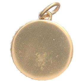 Médaille laiton Vierge Miraculeuse diam 1,7 cm s2