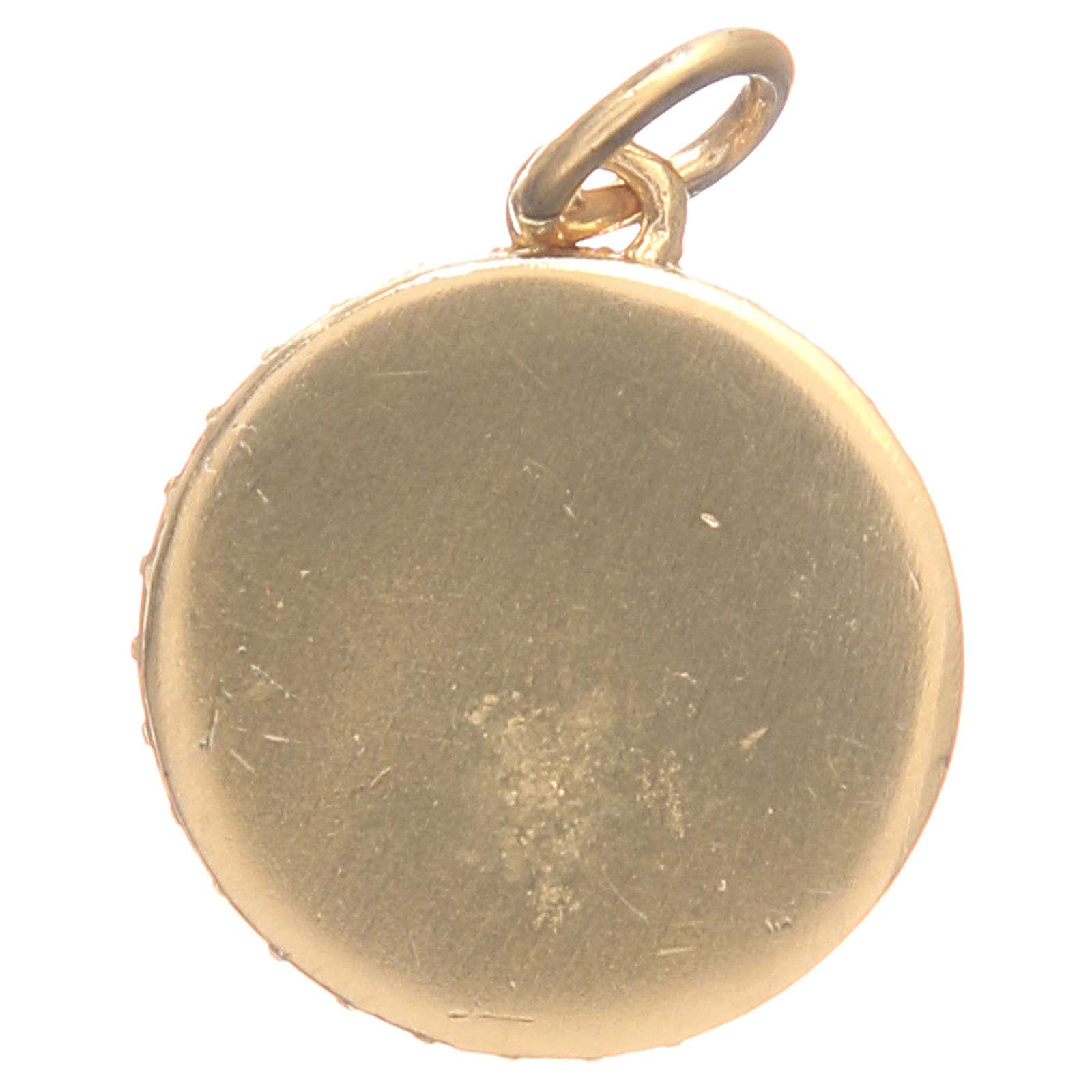 Medalik srebro 800 Matka Boska 1,7cm 4