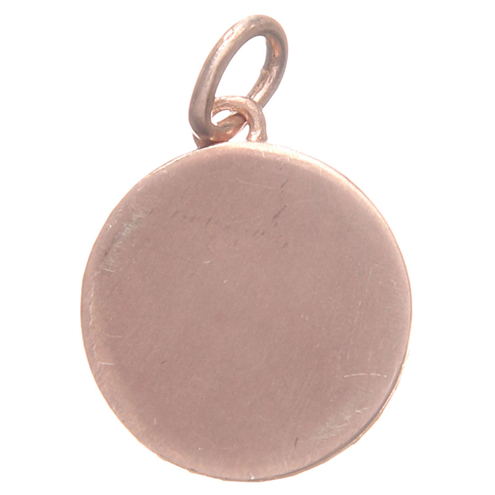 Medalla plata 800 San Antonio de Padua 1,7 cm 4