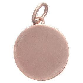Medalla plata 800 San Antonio de Padua 1,7 cm s2